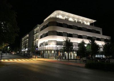 Zentrum Bad Schallerbach - Nachtansicht